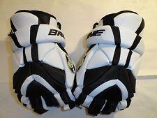 "Brine LGE24-B Junior Element Phenom Series 12"" Lacrosse Glove Black & White"