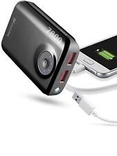 Batterie CELLULARLINE FREEPOWER Dual 7800 - Nero