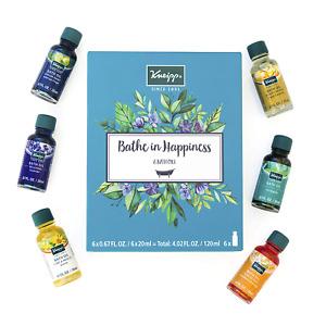 Kneipp 6 Piece Herbal Bath Oil Set - 6 x 20 Milliliter Bottles