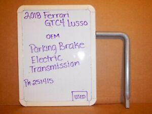 2018 Ferrari GTC4 Lusso OEM Parking Brake Lock & RHT Release Tool 251415