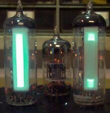 2 Röhren vacuum tubes magic eye 6E2 magisches Band Auge ~EM84 ~EM87 VU-Meter