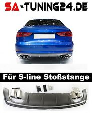 wabengrill rs3 Audi A3 8V S-Line S3 grill Look Diffusor Stoßstange Limousine =17