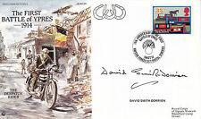 19 OTTOBRE 1993 BATTAGLIA DI YPRES firmato David Smith-Dorrien Copertura BFPO SHS