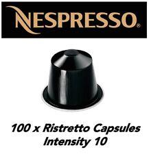 STOCKUP SPECIAL!! 100 Genuine Ristretto Nespresso Capsule *BNIB*