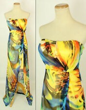 Jump Apparel $145 Yellow Prom Formal Cruise Dress Size 5 Junior Long Gown Junior