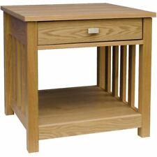 Ashton Lamp Table 1 Drawer Wood MDF Side Bedroom Hallway Furniture Unit