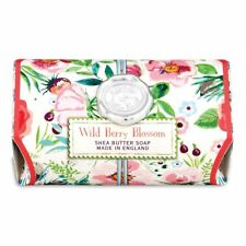 Michel Design Works Large 8.7 oz Artisanal Bar Bath Soap Wild Berry Blossom NEW