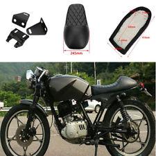 Motorcycle Hump Seat Black Vintage Cushion Saddle For Honda CB125S CB200 CB350