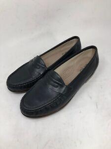 SAS Tripad Comfort Womens Size 10 M Navy Blue Slip On Penny Loafers Flats Shoes