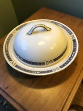 "Vintage Nortake ""THE COMMODORE"" Round Covered Butter Dish With Lid"