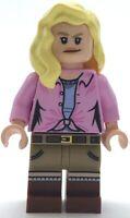 Lego New Ellie Sattler Jurassic World Minifigure Girl Figure