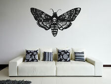 ik1123 Wall Decal Sticker death's-head moth butterfly bedroom