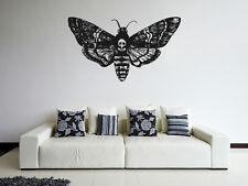 ik1123 Wall Decal Sticker death's-head moth butterfly bedroom