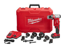 "Milwaukee 2677-21 M18 FORCE LOGIC 6T Knockout Tool 1/2""-2"" Kit"