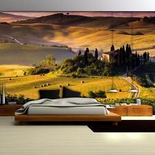 VLIES Tapete Fototapete Foto Tapeten Toskana Natur Gebirge Landschaft 13N169VEXL