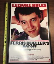 Mini Movie Poster Framed Ferris Bueller's Day Off Man Cave