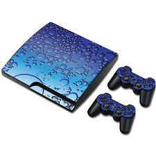 Skin Sticker Vinyl Decal Cover For PS3 PlayStation 3 Slim+2 Controllers TN0075