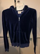 Lady Juicy Couture Velour Track Ladies Embellished rhinestones Print Size Medium