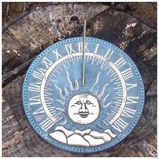 Horloge Solaire Plat (E) en Bronze Nouveau Jardin Frostfest Figurine Déco