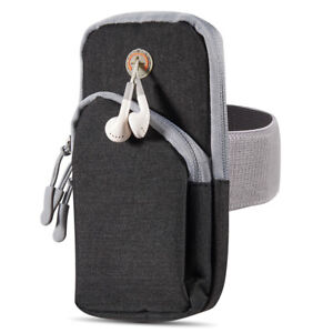 Sports Running Armband Pouch Case Wallet Bag For Samsung Galaxy S21 / iPhone 12