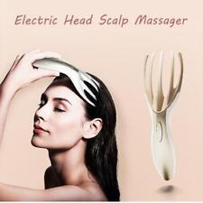 électrique MASSEUR CUIR CHEVELU tête corps entier SPA vibrant Brosse de massage