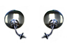 Hot Rod Swan Side View Mirrors (Pair)