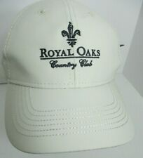 Royal Oaks Country Club Hat Cap Houston Texas Golf USA Embroidery Unisex