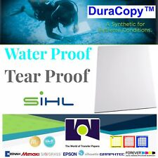 """Sihl 3153 DuraCopy™ 8 Mil Synthetic C2S Matte, 50 11""""x17"""" Sheets FREE SHIPPING"""