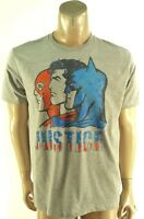 DC COMICS NEW MENS GRAY BATMAN SUPER HERO GRAPHIC PRINT T-SHIRT sz- L LARGE
