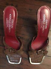 Donald J Pliner Brown Sandals - Size 8.5