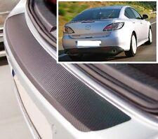 Mazda 6 MK2 Saloon- Carbon Style rear Bumper Protector