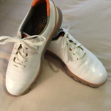 FootJoy Men's Golf Shoes 8 Medium White Dry Joy Tours Model 53649