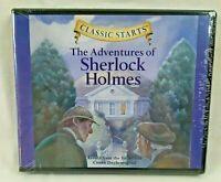 NEW Classic Starts Sherlock Holmes Audio CD By Sir Arthur Conan Doyle Children