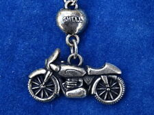 JOLI Nice RARE & TOP +++ PORTE-CLES / Key ring - SHELL - MOTO COEUR Bike Heart