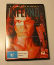 """DVD - Inferno - Don """"The Dragon"""" Wilson - REDUCED!!"""