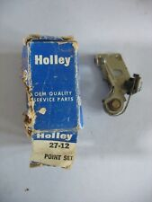 NOS Holley 27-12 Point Set