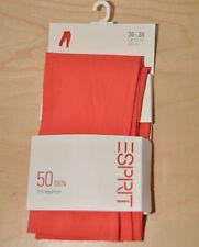 ESPRIT 3/4 Leggings * Größe 36-38 * 50 DEN * Orange * mit 10% Elastan
