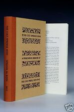 The Colt Springs High William M Roth Book Club of California Limited Illustrated