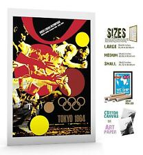 SPORT POSTER OLYMPIC GAMES TOKYO 1964