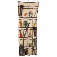 NEW 20 Pocket Bedroom Hanging Over Door Kids Toy Shoe Storage Rack Space Saver