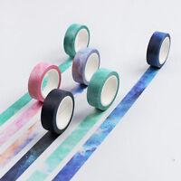 DIY Decorative Washi Sticky Paper Scrapbooking Masking Adhesive Tape Label Craft