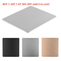 Non-slip Metal Aluminum Alloy Computer Gaming Mice Mat Mouse Pad For PC Laptop~