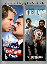 **BRAND NEW** THE CAMPAIGN/DUE DATE DOUBLE FEATURE (DVD, 2015, 2-Disc Set)