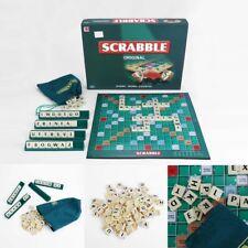 MATTEL Scrabble Original Kreuzwortspie Board Game GESELLSCHAFTSSPIEL SPIEL Y9598