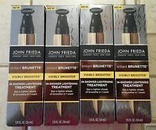 John Frieda Brilliant Brunette In Shower Lightening Treatment 1.15 fl oz (4 pack