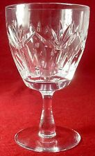 WEBB CORBETT crystal INVERNESS pattern WATER GOBLET or GLASS 5-1/2""