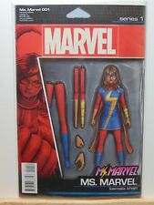 Ms. Marvel #1 001 Variant Edition Toy Cover Marvel Comics vf/nm CB2635