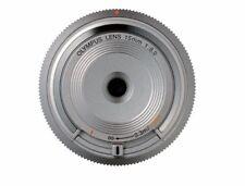 Olympus Body Cap Lens 15mm F8 BCL-1580 Silver