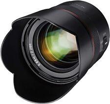 Samyang AF 75mm F1.8 Auto Focus Telephoto Lens for Sony E Mount - SYIO75AF-E