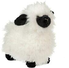 "Douglas Shiloh Cream Sheep Lamb Plush Stuffed Animal with Black Face & Feet, 6"""